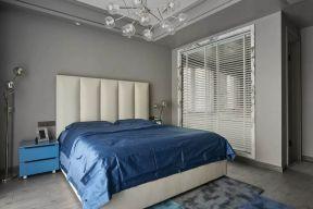 淡雅卧室床室内装修设计