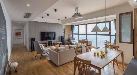 140平三房两厅现代简约装饰效果图