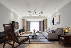 80平三居室北欧风格装修效果图