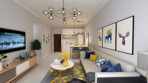2019北欧90平米装潢设计 2019北欧二居室装修设计
