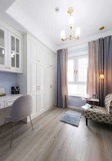 卧室窗帘美式装修效果图欣赏