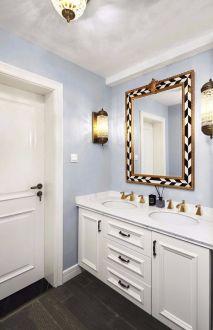 2020法式卫生间装修图片 2020法式洗漱台装饰设计
