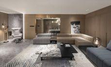 2019后现代150平米效果图 2019后现代套房设计图片