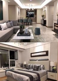 2019后现代起居室装修设计 2019后现代背景墙图片