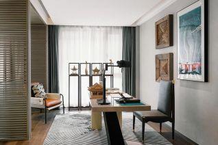 2020简约150平米效果图 2020简约三居室装修设计图片