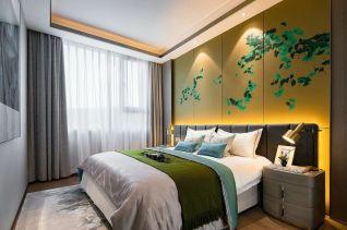 卧室窗帘简约装修案例