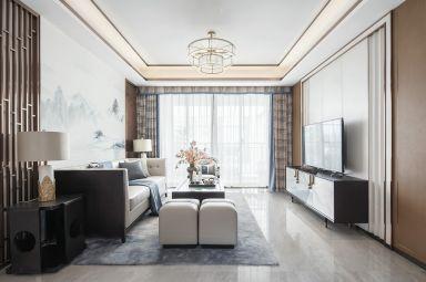 2019新中式110平米裝修設計 2019新中式四居室裝修圖