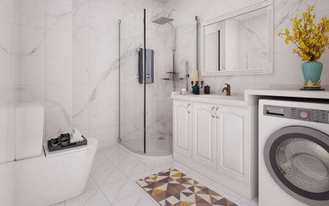 休闲浴室柜装潢效果图