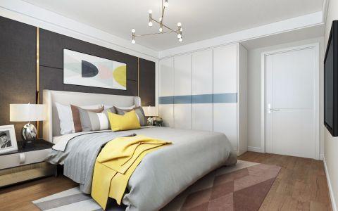 2019现代欧式卧室装修设计图片 2019现代欧式床头柜装修设计图片