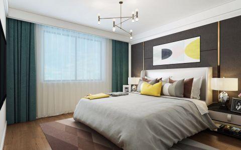 摩登卧室现代欧式装修美图