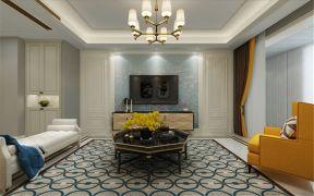 155平米三居室新古典装修效果图