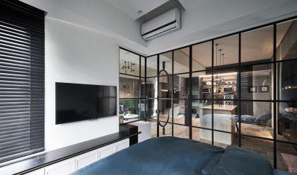 2019中式卧室装修设计图片 2019中式吊顶效果图