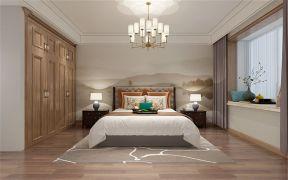 中式卧室窗帘装修