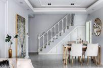 2019法式餐厅效果图 2019法式背景墙装修图