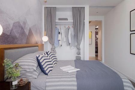 2019北欧卧室装修设计图片 2019北欧衣柜装修效果图片