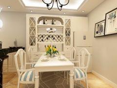 禹洲天境98平米三室小美风格装修效果图