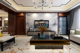 餐厅餐桌新中式装饰设计图片