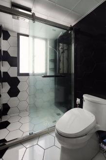 2019混搭卫生间装修图片 2019混搭地板砖设计图片