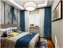 2019新中式卧室装修设计图片 2019新中式飘窗图片