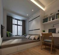 2019现代起居室装修设计 2019现代窗台装修图片