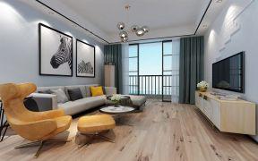 2019北欧110平米u乐娱乐平台设计 2019北欧套房设计图片