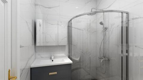 2019现代卫生间装修图片 2019现代浴室柜装修图片