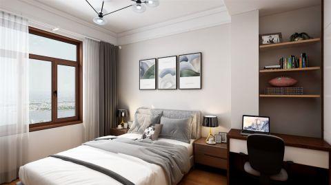 2019新中式起居室装修设计 2019新中式窗帘装修效果图片