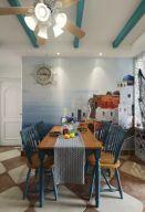 2019地中海餐厅效果图 2019地中海照片墙图片