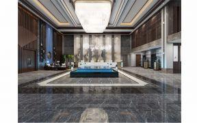 中式风格东城酒店效果图