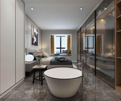 2019新中式90平米装饰设计 2019新中式二居室u乐娱乐平台设计