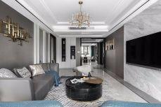 2019现代繁复110平米装修设计 2019现代繁复套房设计图片