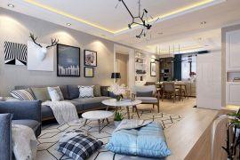 2021现代简约110平米装修设计 2021现代简约公寓装修设计
