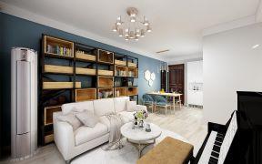 2019现代繁复110平米装修设计 2019现代繁复三居室装修设计图片