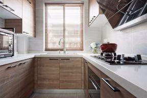 锦江国际城105平北欧风格三居室厨房效果图
