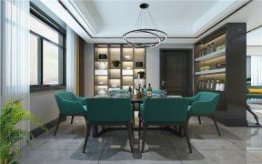 奢華餐廳窗簾裝修方案