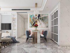 2019美式90平米裝飾設計 2019美式二居室裝修設計