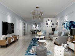 2019現代簡約150平米效果圖 2019現代簡約三居室裝修設計圖片