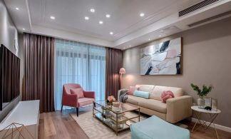 2019新中式110平米裝修設計 2019新中式三居室裝修設計圖片