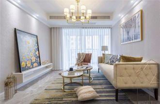 2019美式90平米装潢设计 2019美式三居室装修设计图片