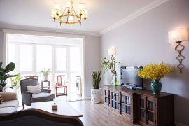 2019法式模范模范110平米装修设计 2019法式模范模范三居室装修设计图片