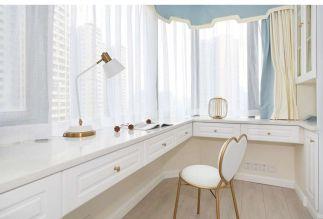 盛唐城80平美式风格二居室装修效果图