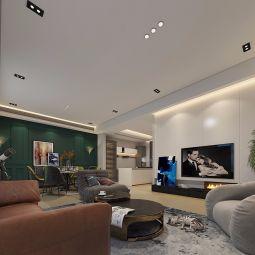 2019现代简约300平米以上装修效果图片 2019现代简约别墅装饰设计