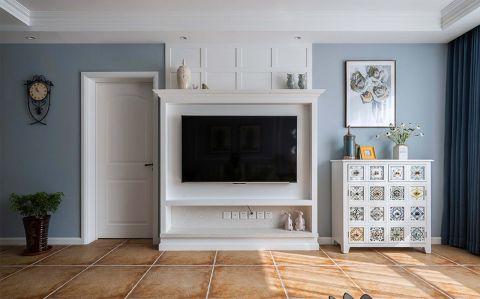 2019繁复110平米装修设计 2019繁复三居室装修设计图片