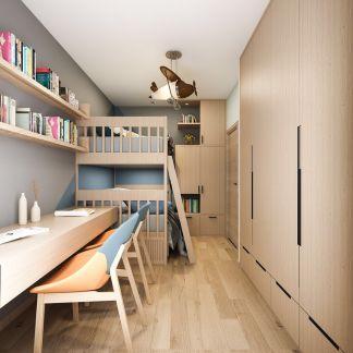 2019北欧儿童房装饰设计 2019北欧书架装饰设计