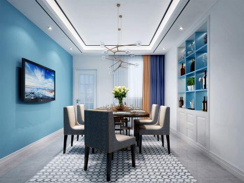 莲玉嘉园157平米三居室地中海风格图片