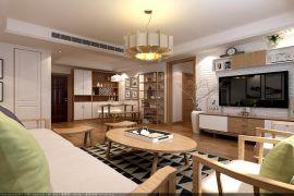 2019现代繁复90平米装潢设计 2019现代繁复三居室装修设计图片
