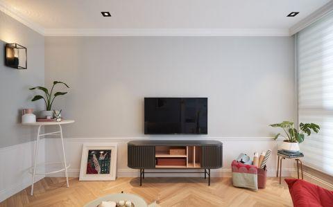 85平方米混搭风格一居室装修效果图
