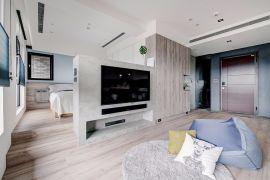 高贵风雅客厅现代简约装饰设计图片