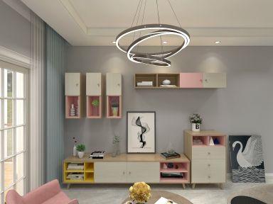 2019簡約150平米效果圖 2019簡約三居室裝修設計圖片