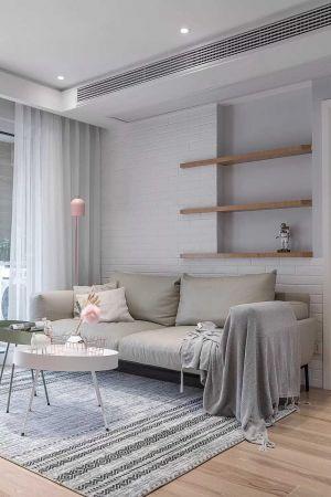2019北歐90平米裝飾設計 2019北歐三居室裝修設計圖片